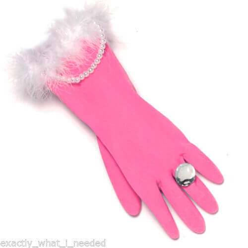 pink-rubber-gloves-with-pearls-attached