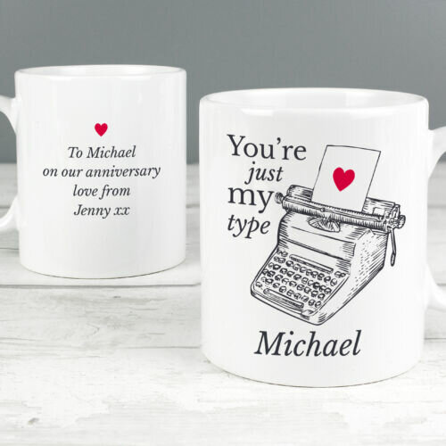 Just my type mug