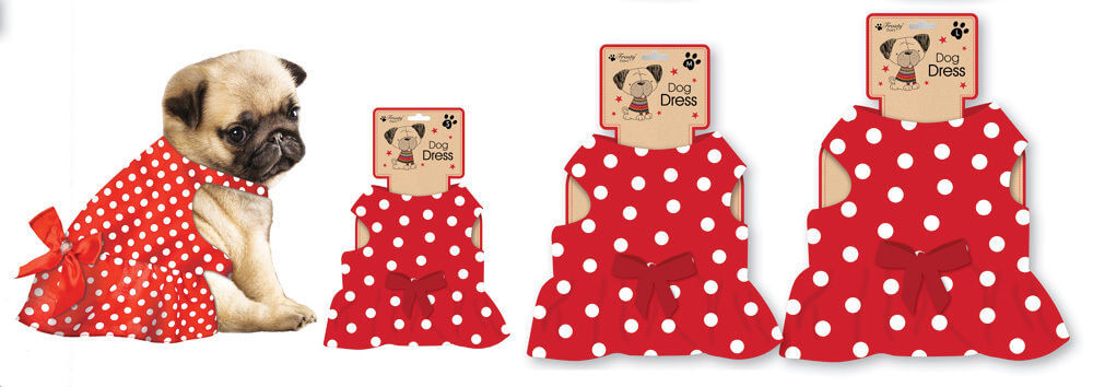 red-polka-dot-dog-dress