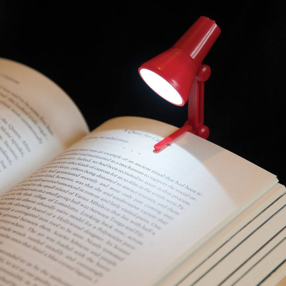 red-clip-on-book-lamp
