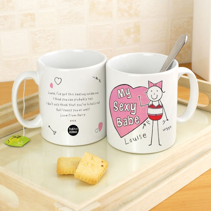 Personalised Mug - Babe