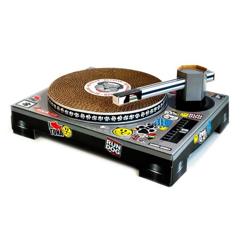 Novelty Cat Scratchpad Turntable (2)