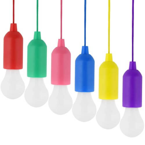 Various Colours Battery Operated Rope Light Min