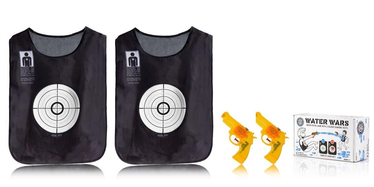 waterwars 2 waterguns and 2 vests