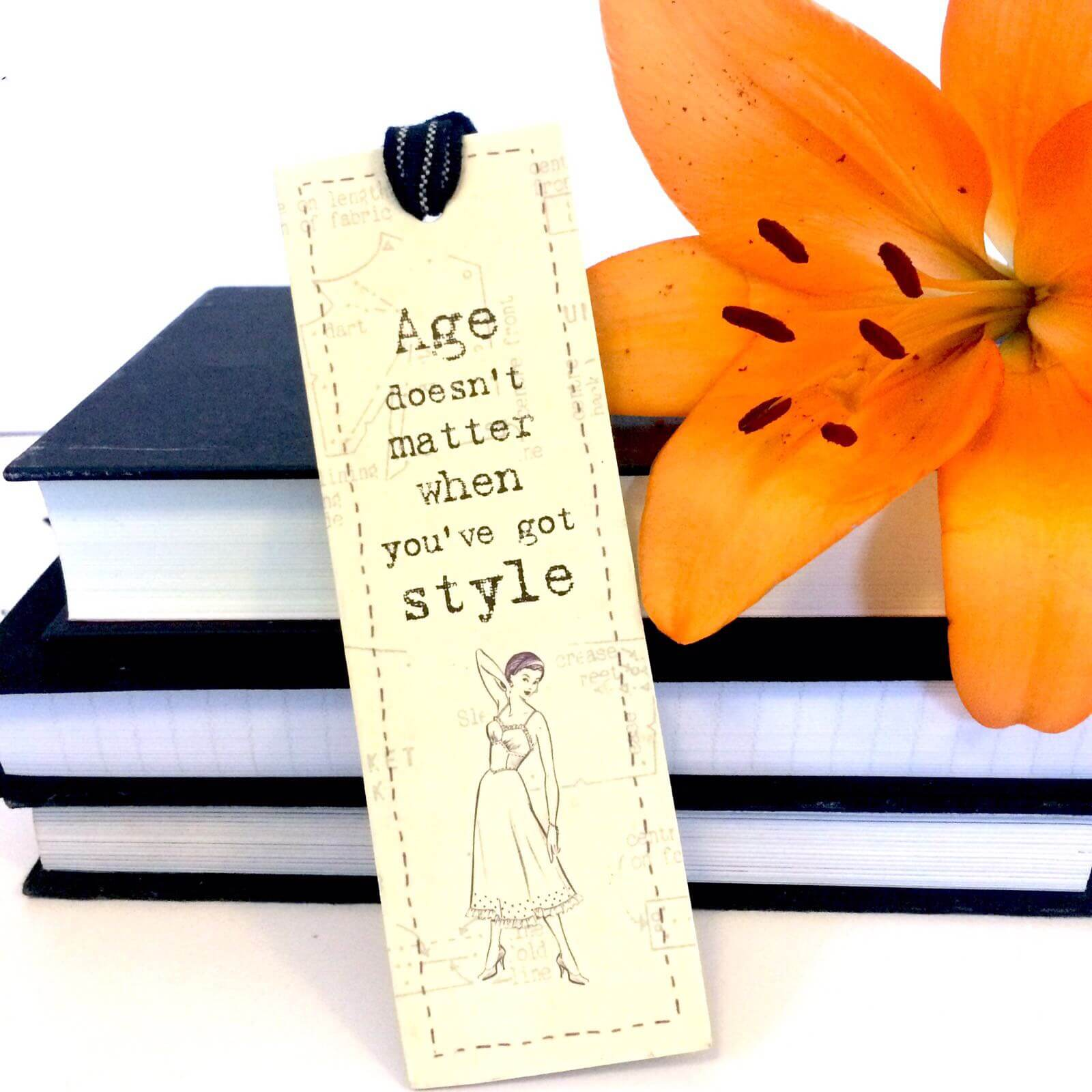 East Of India Bookmark Age Doesnt Matter Exactly What I Needed