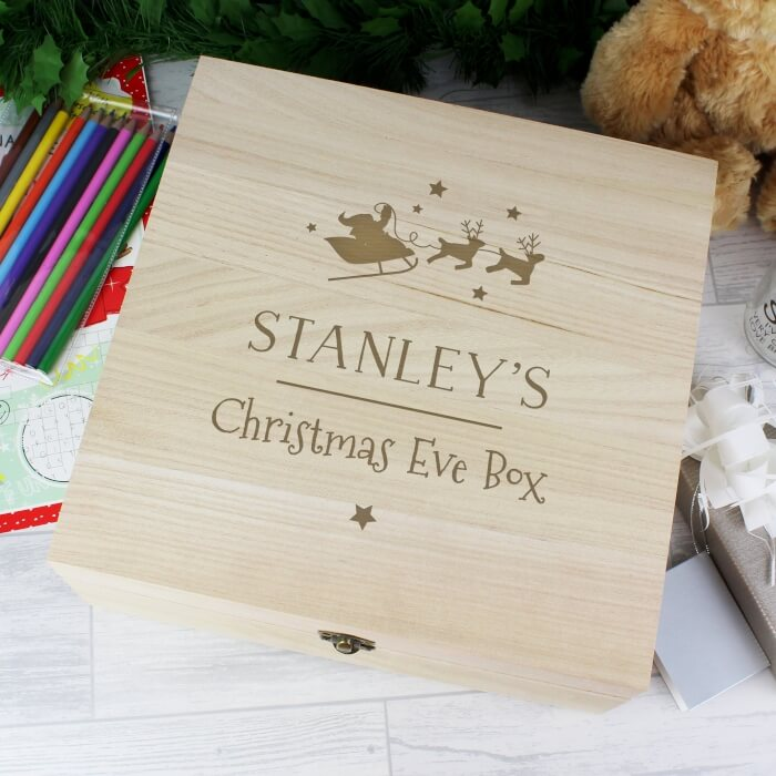 Childrens Christmas Eve Box Personalised