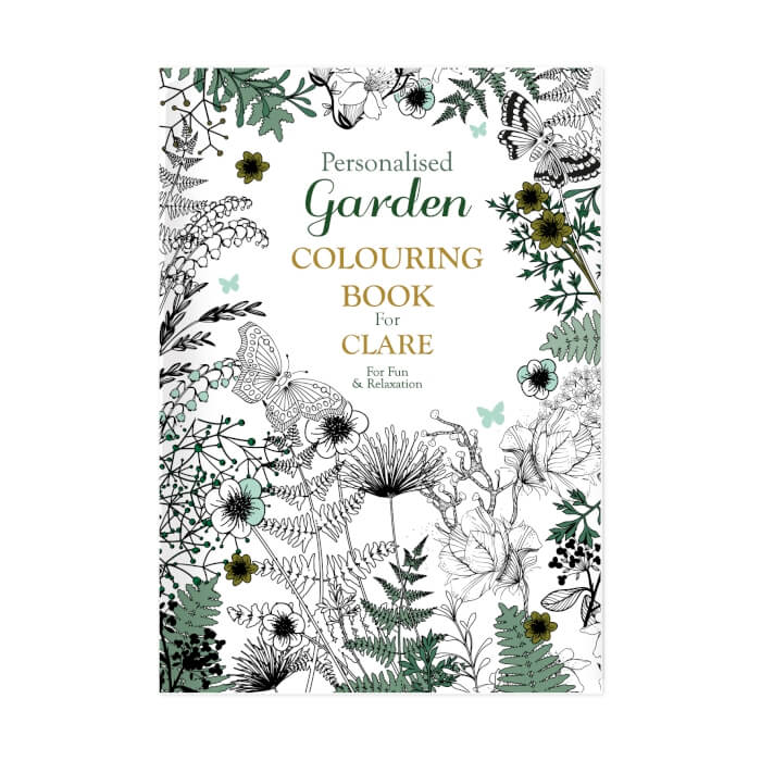 Personalised Grown Up Colouring book