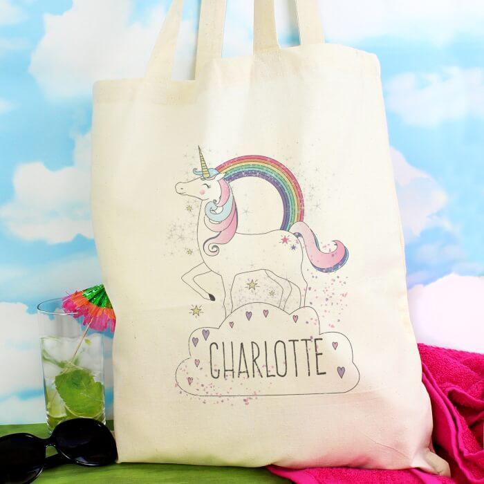 Personalised Unicorn bag (2)