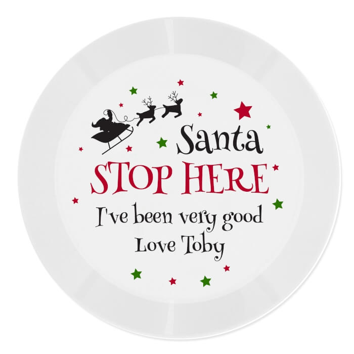 Santa Stop here Ive been Very Good personalise