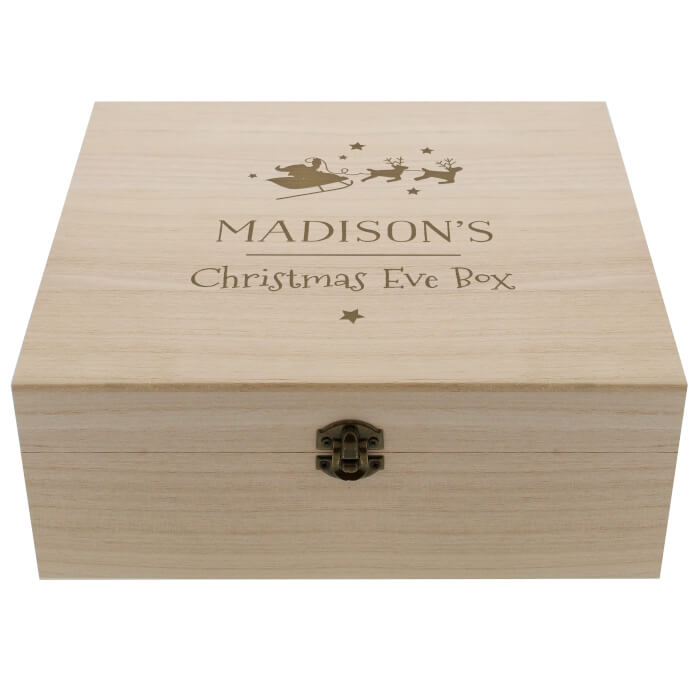 large personalised Christmas Eve Box