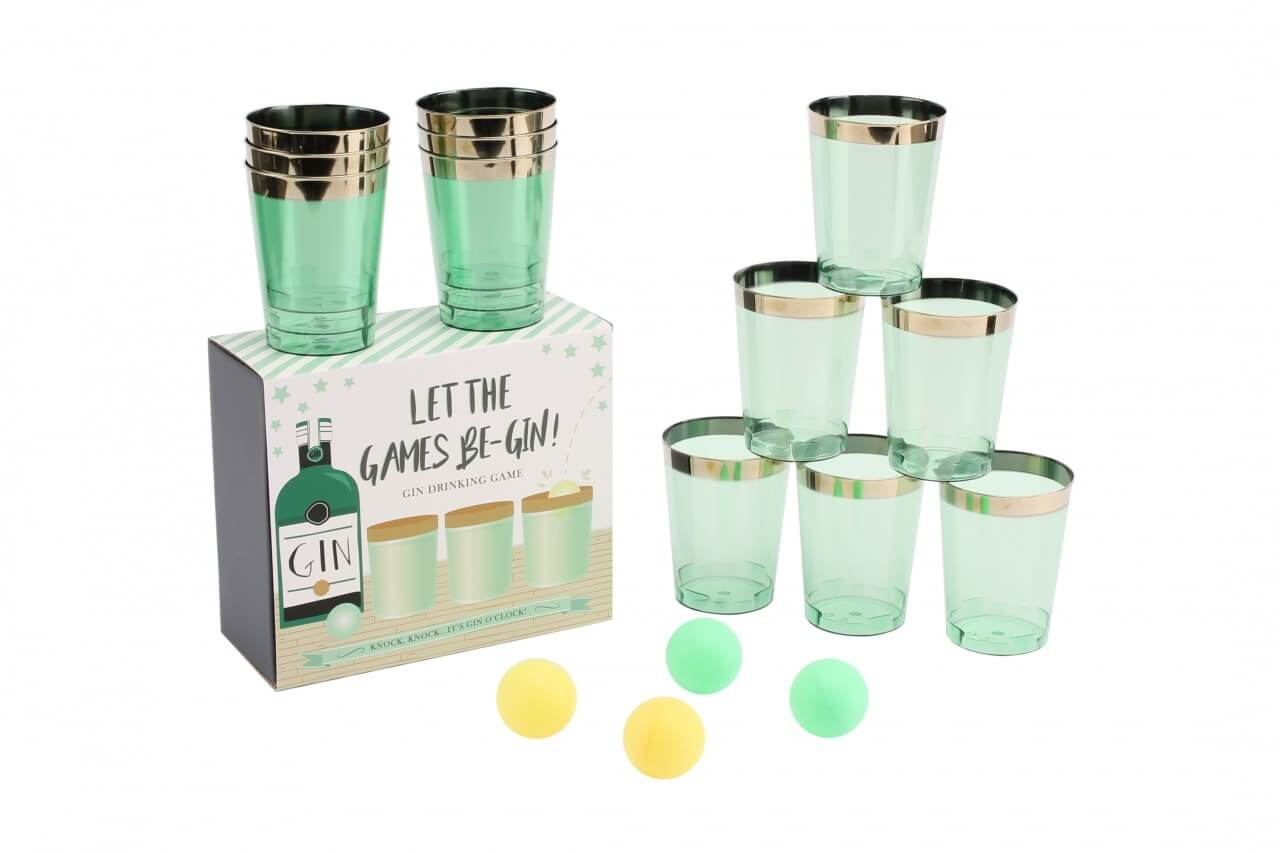 Gin Pong Drinking Game-min