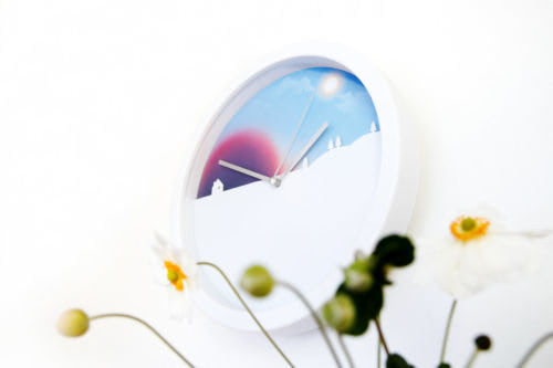 day-night-clock-from-below-flowers_66610