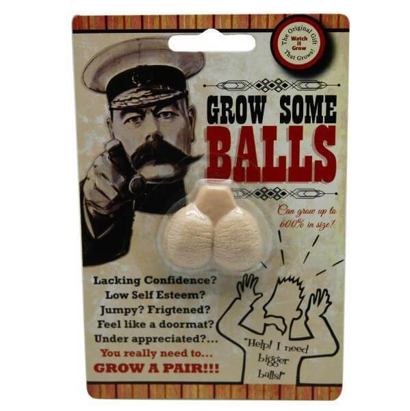 Grow Your Own Pair Of Balls Exactly What I Needed