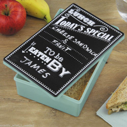 Chalkboard-Lunch-Box-Chalk-Pen-School-Pack-Lunch-Snack-Picnic-Novelty-Gift-NEW-351789532041
