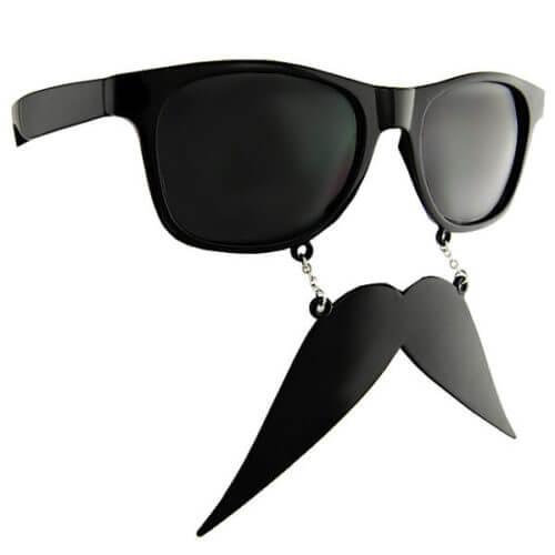 Walrus-Wayfarer-Style-Moustache-Sunglasses-Geek-Novelty-Glasses-Charm-Mustache-351171912951