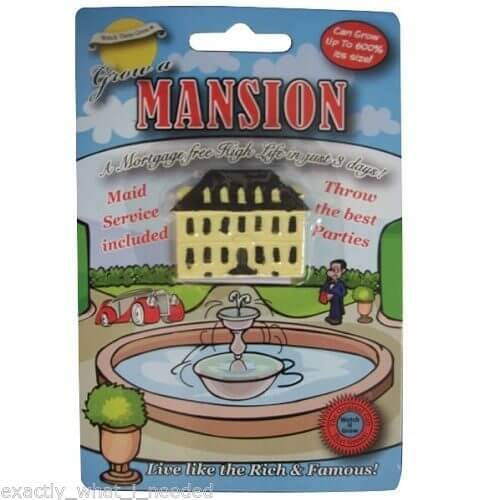Grow-Your-Own-Mansion-Birhday-Present-Fun-Funny-Novetly-Party-Adult-Gift-Present-391438383202
