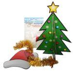 Desk-Top-3d-Xmas-Tree-Decoration-Kit-Magic-Snow-Novelty-Secret-Santa-Office-Gift-391287496613