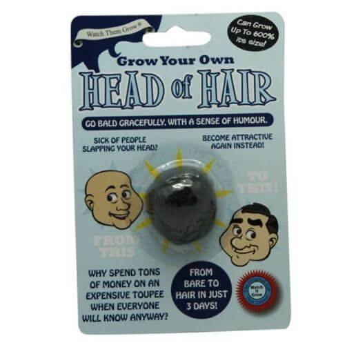 Grow-Your-Own-Head-Of-Hair-Fun-Funny-Novetly-Joke-Prank-Party-Secret-Santa-Gift-351575470573