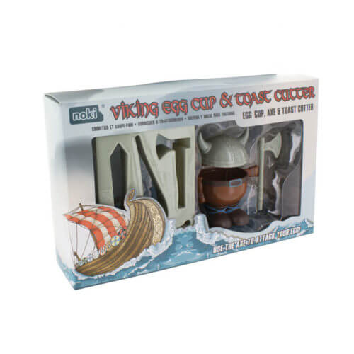 Viking-Egg-Cup-Holder-Shaped-Toast-Cutter-Boys-Kids-Novelty-Birthday-Gift-NEW-391512946874-2