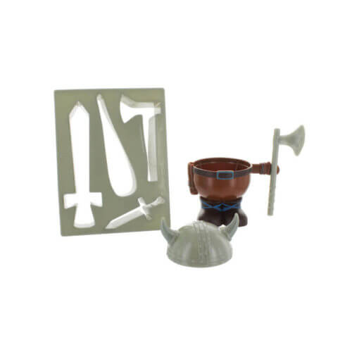 Viking-Egg-Cup-Holder-Shaped-Toast-Cutter-Boys-Kids-Novelty-Birthday-Gift-NEW-391512946874-3