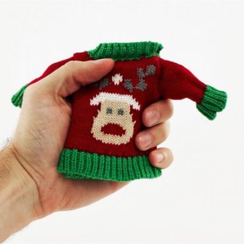 Christmas-Style-Handwarmer-Reindeer-Jumper-Pocket-Hand-Size-Secret-Santa-GIft-351191083925