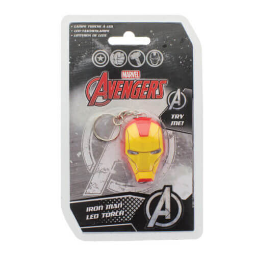 Marvel-Iron-Man-LED-Torch-Keyring-Novelty-Collectable-Kids-Gift-Camping-Gadget-391467423875-2