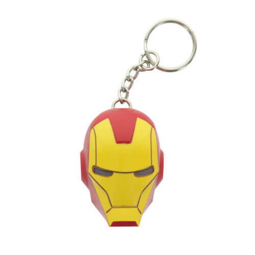 Marvel-Iron-Man-LED-Torch-Keyring-Novelty-Collectable-Kids-Gift-Camping-Gadget-391467423875-3