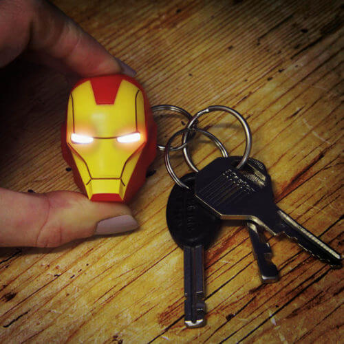 Marvel-Iron-Man-LED-Torch-Keyring-Novelty-Collectable-Kids-Gift-Camping-Gadget-391467423875
