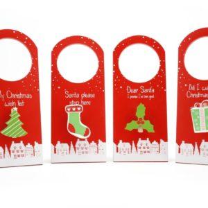 wooden christmas door hanger exactly what i needed - Christmas Slogans