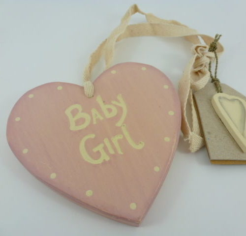 Variation-of-Chic-East-of-India-Vintage-Shabby-Hanging-Wall-Sign-Heart-Shaped-New-Baby-Gift-350982441646-25ad