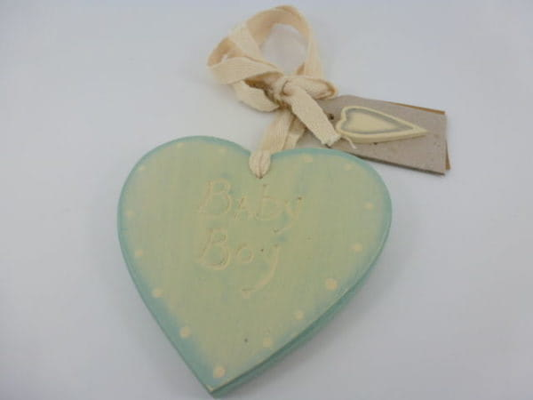Variation-of-Chic-East-of-India-Vintage-Shabby-Hanging-Wall-Sign-Heart-Shaped-New-Baby-Gift-350982441646-3c0c