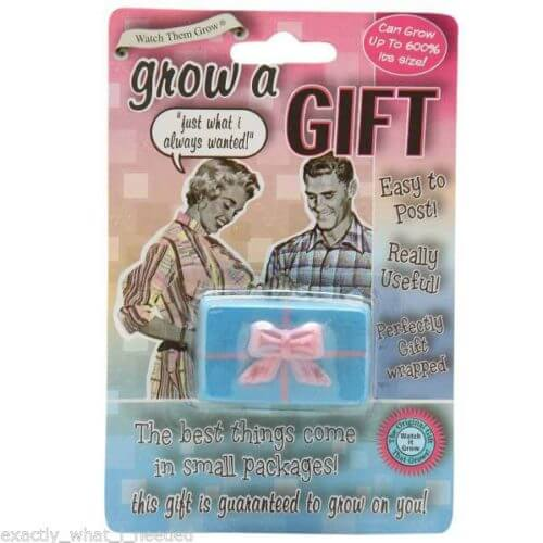Grow-Your-Own-Gift-Birhday-Present-Fun-Funny-Novetly-Party-Adult-Gift-Present-391438378688