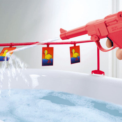 Duck-Shooting-Bath-Game-Water-Pistol-Gun-Ducks-Target-Fun-Toy-Xmas-Adults-Kids-391260749019