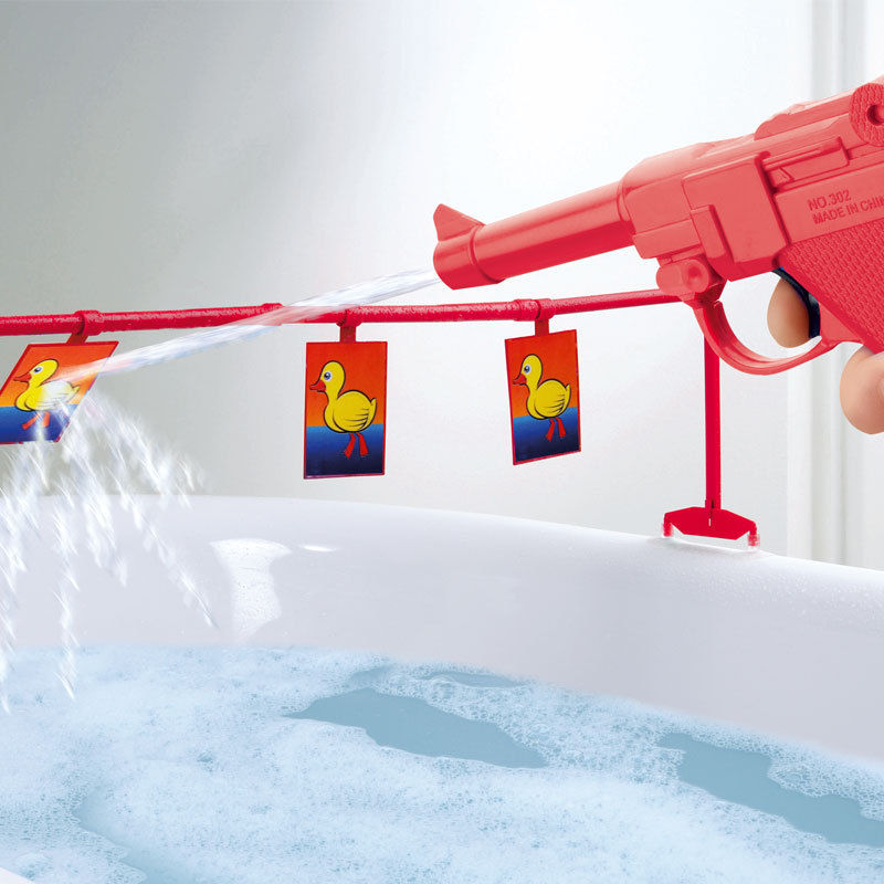 Fun Water Toys For Adults : Bathroom duck shoot exactly what i needed